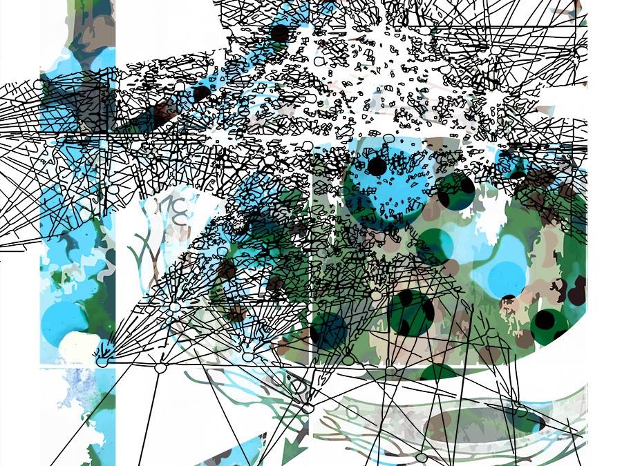A SNEAK PEEK – Biomorphic Social Mapping series in progress