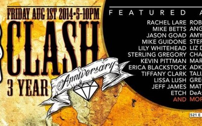 COME JOIN ME FOR FIRST FRIDAY IN THE OREGON DISTRICT – CLASH!